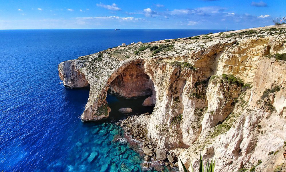 Blue Grotto in Żurrieq